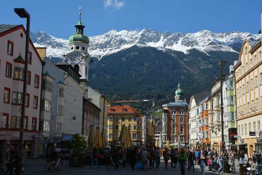 Innsbruck Sehenswürdigkeiten in der Innenstadt