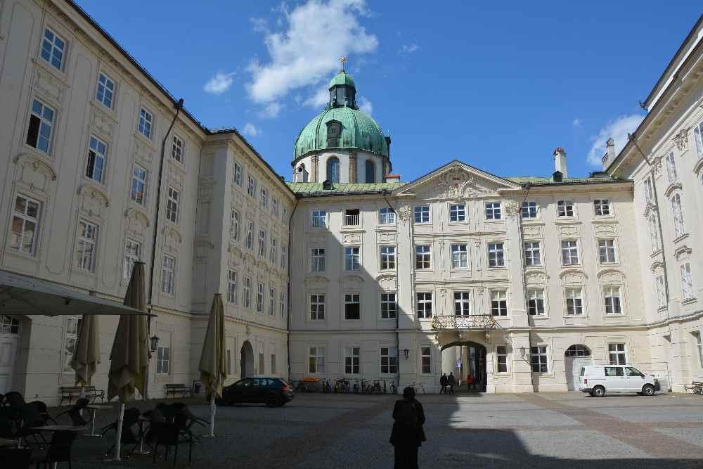 Die imposante Hofburg in Innsbruck