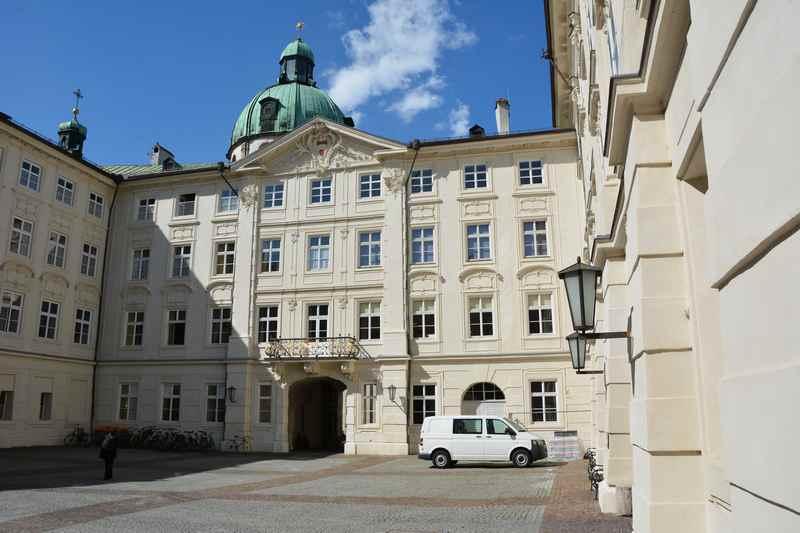 Hofgasse Innsbruck Schöne Gasse Beim Goldenen Dachl Hofburg