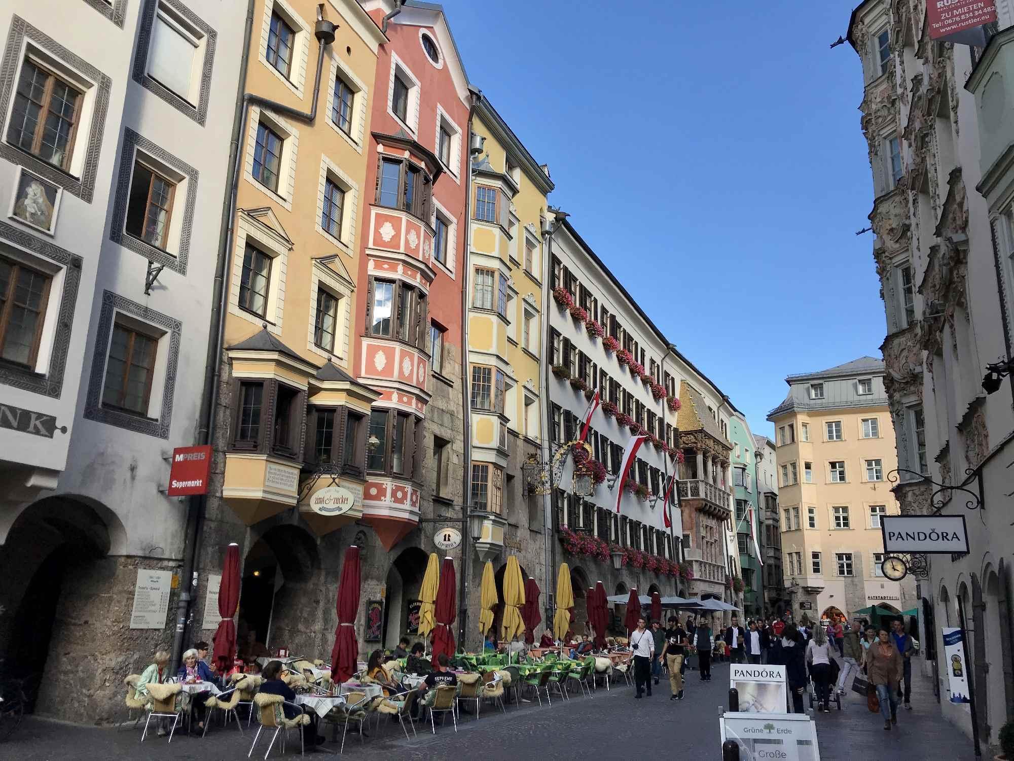 Bummel durch die Altstadt Innsbruck