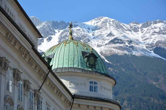 Innsbruck Sehenswürdigkeiten: Die Hofburg in Innsbruck