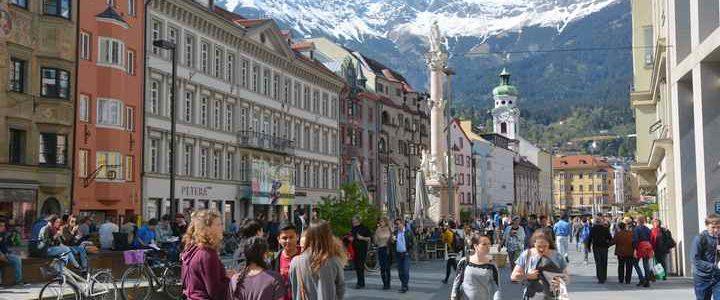 Spaziergang Innsbruck