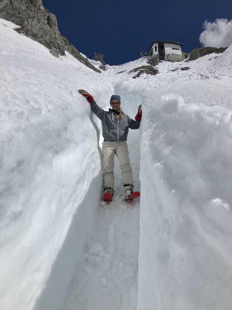 Figln Nordkette - ein Traum in Innsbruck im April