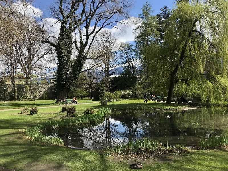 Innsbruck Parks - besuch die Parkanlagen des Adels kostenlos. Die schönstnne Parks in Innsbruck