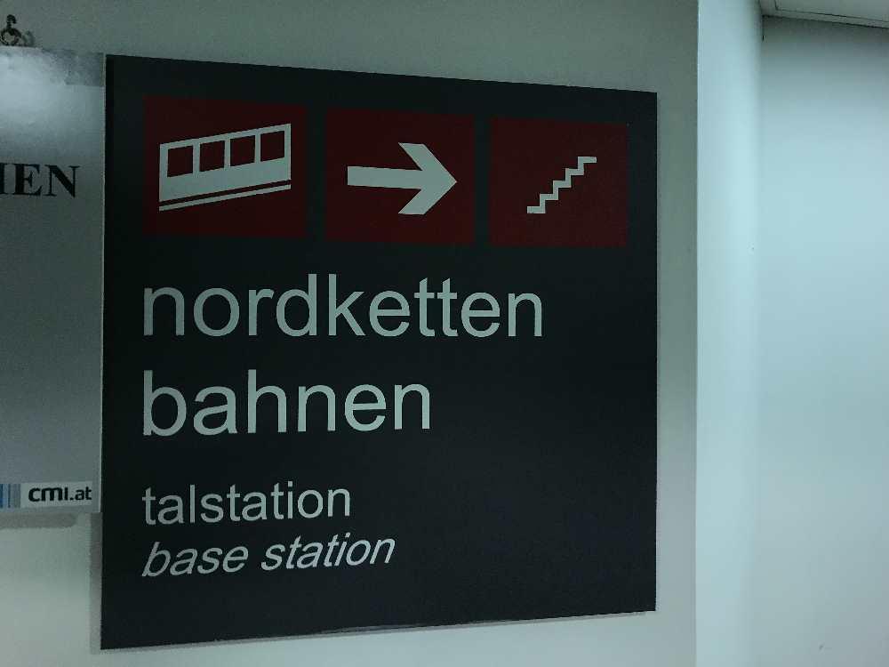 Nordkettenbahn parken - aus der kostenlosen Tiefgarage direkt hinauf zur Hungerburgbahn
