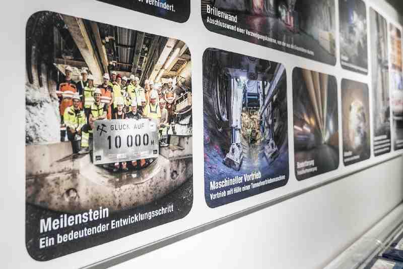 Brenner Basistunnel Infozentrum - im Pema Gebäude am Bahnhof Innsbruck