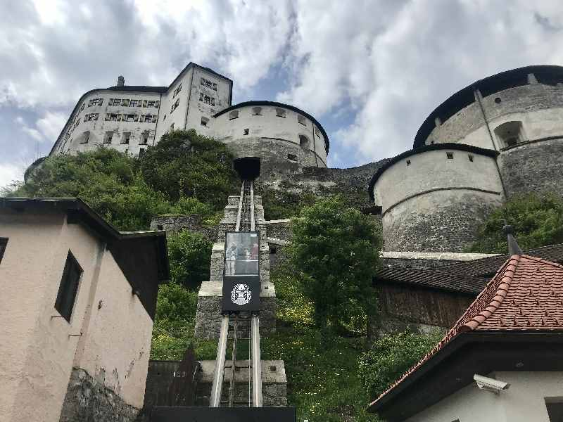 Kufstein - zweitgrößte Stadt in Tirol mit der bekannten Festung und der Heldenorgel