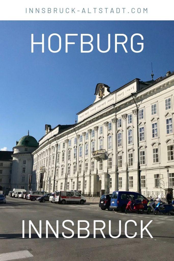 Hofburg Innsbruck - prachtvoller Bau von außen