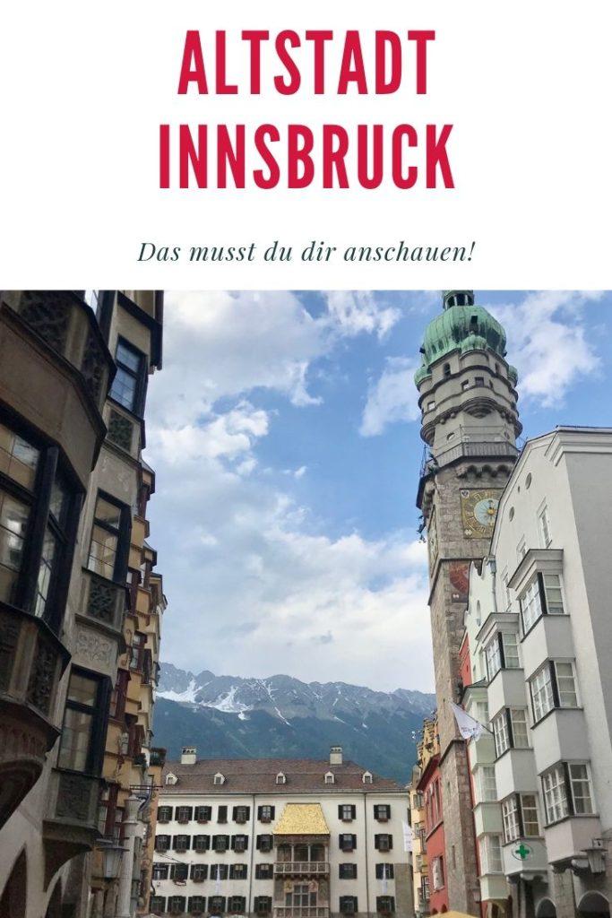 Diese Innsbruck Sehenswürdigkeiten solltest du in der Innsbruck Altstadt nicht verpassen!