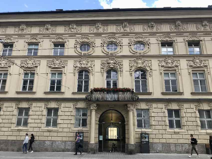 Herrschaftliches Thurn & Taxis Palais - heute die Kunsthalle Innsbruck