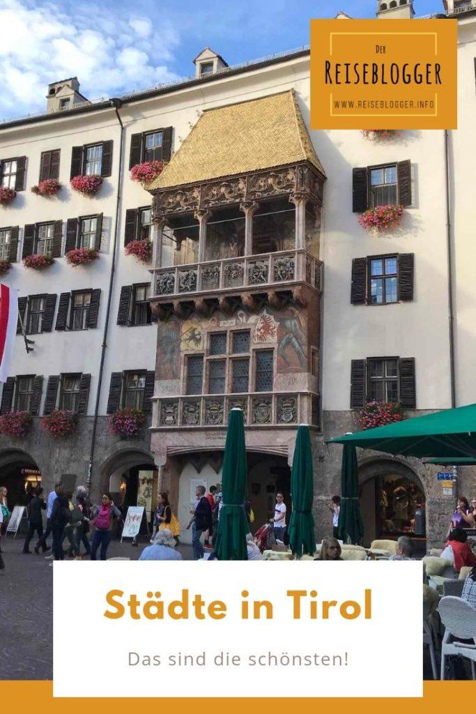 Merke dir diesen Pin der schönsten Städte in Tirol - so findest du diese Insidertipps wieder.