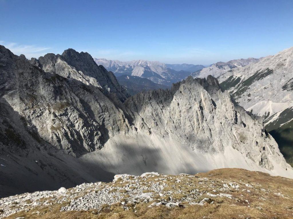 Hafelekar Innsbruck - gigantisch ist der Ausblick auf das Karwendel