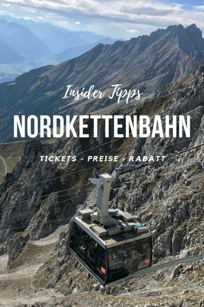 Nordkettenbahn Pin bei Pinterest merken plus Hafelekarbahn Preise mit Rabatt