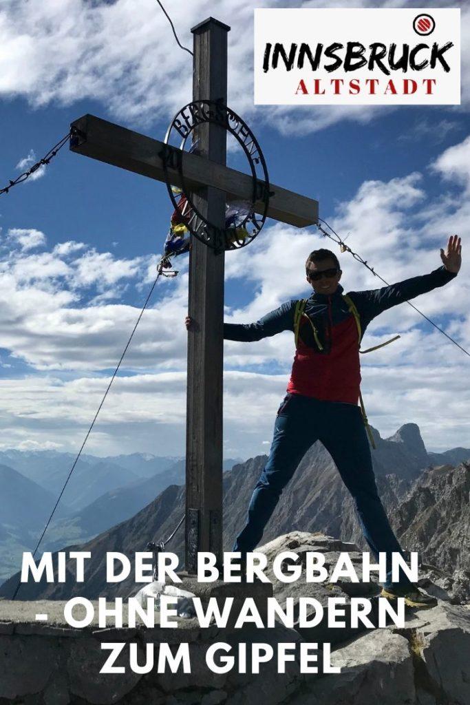 Vom Hafelkar auf die Hafelekarspitze zum Gipfelkreuz