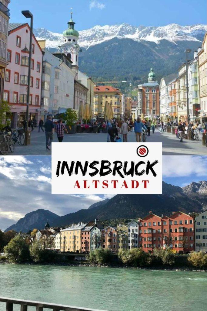 Innsbruck Sehenswürdigkeiten merken - mit diesem Pin für deine nächste Städtereise