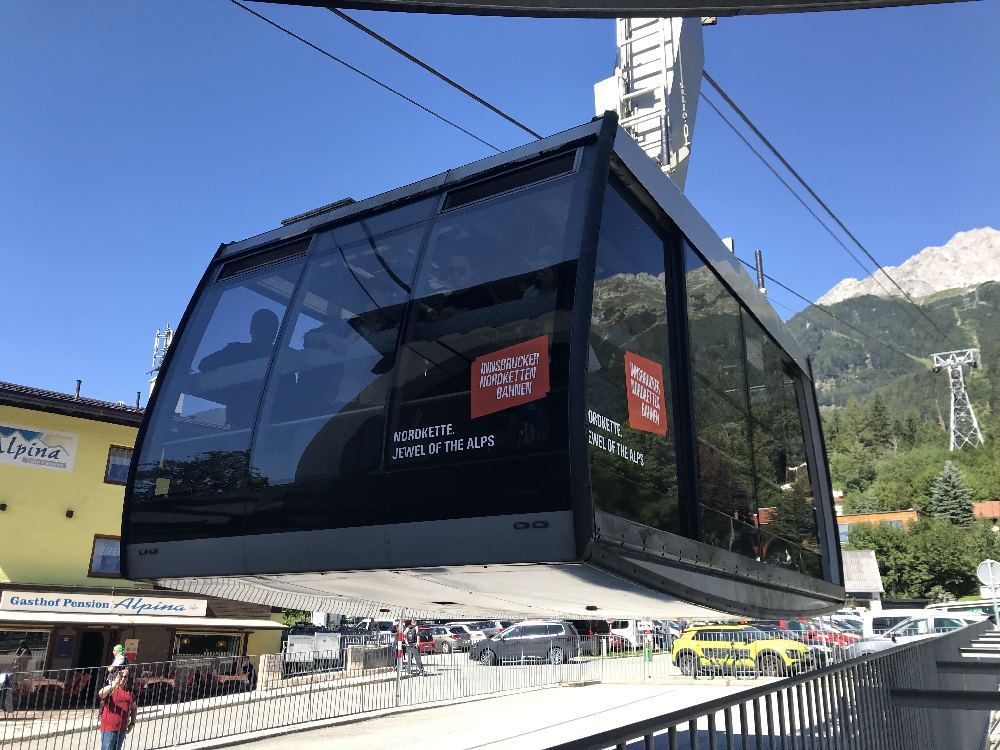 Nordkettenbahn Innsbruck: Die Panoramagondel der Seegrubenbahn