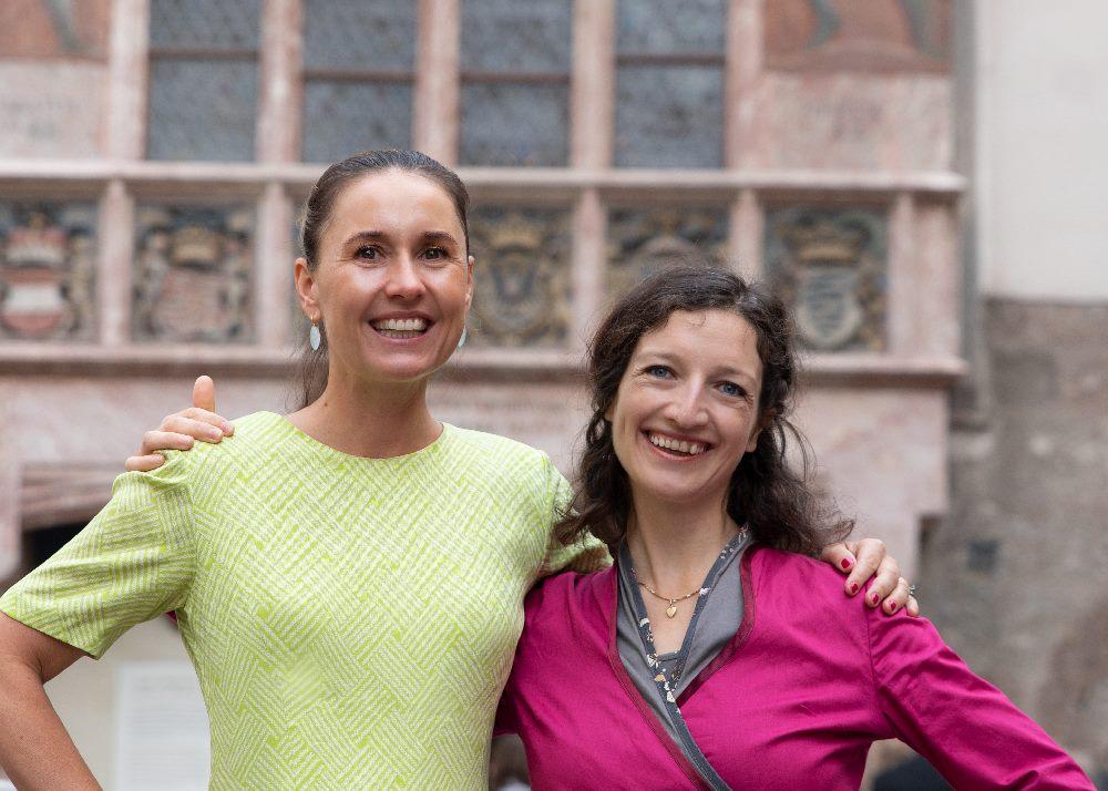 Maria Kittler und Bettina Egger: Die Mütter vom Wimmelbuch Innsbruck