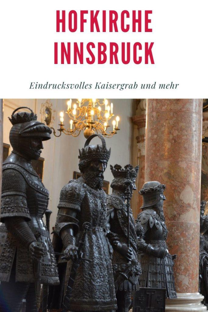 Hofkirche Innsbruck merken - für deinen Rundgang durch die Stadt