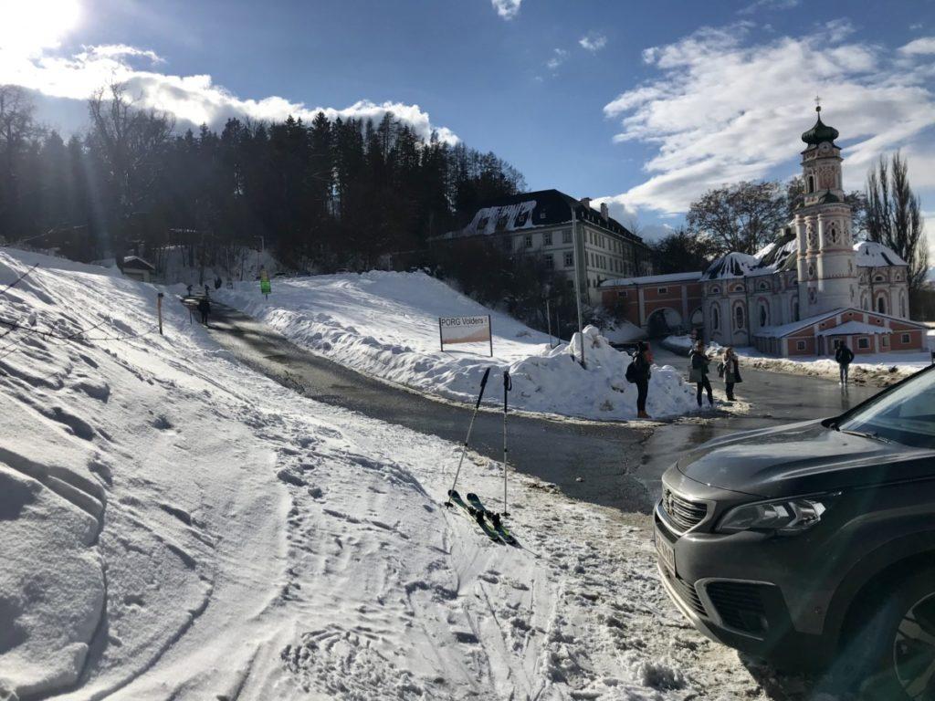 Skitour Innsbruck - ab Volders auf den Glungezer