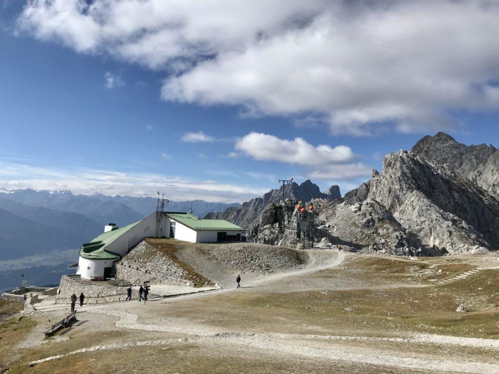 Hafelekarspitze Bergbahn im Karwendel (2256 m)