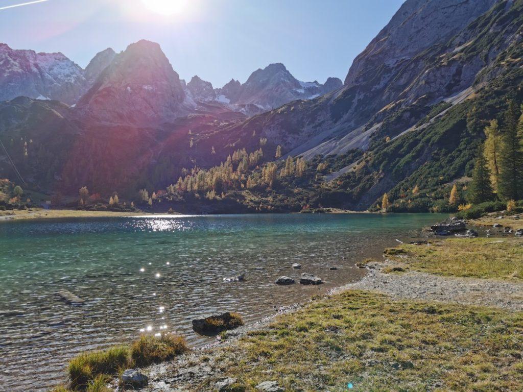 See Innsbruck - im Herbst an den Seebensee im Wettersteingebirge