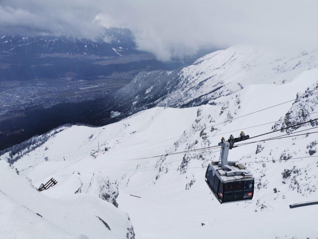 Winter Innsbruck - hinauf zum Hafelekar: Winterurlaub ohne Ski