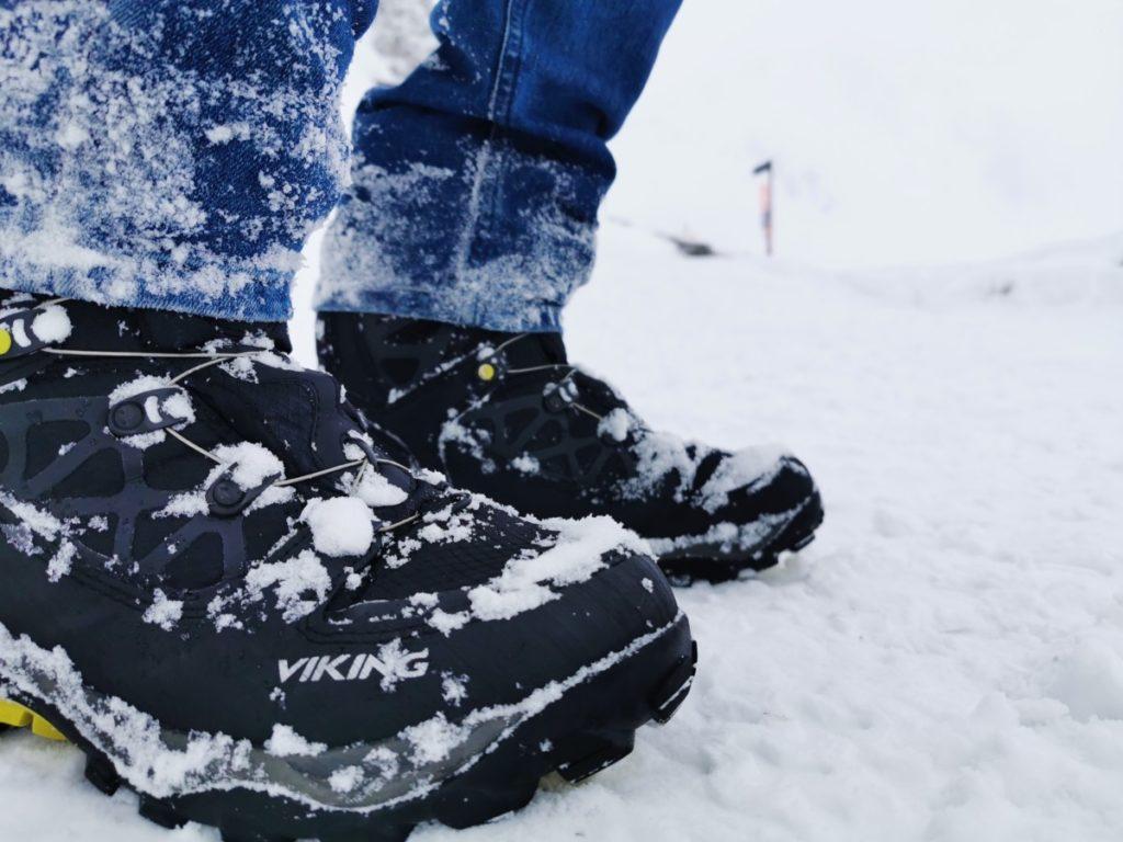 Denk an gute Winterschuhe für deinen Hafelekar Ausflug
