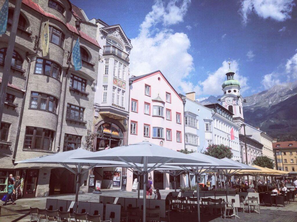 Die Innenstadt von Innsbruck