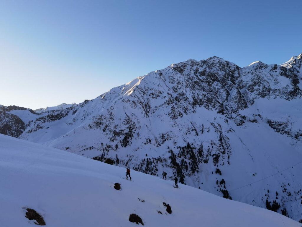Skitour Innsbruck auf die Ruderhofspitze