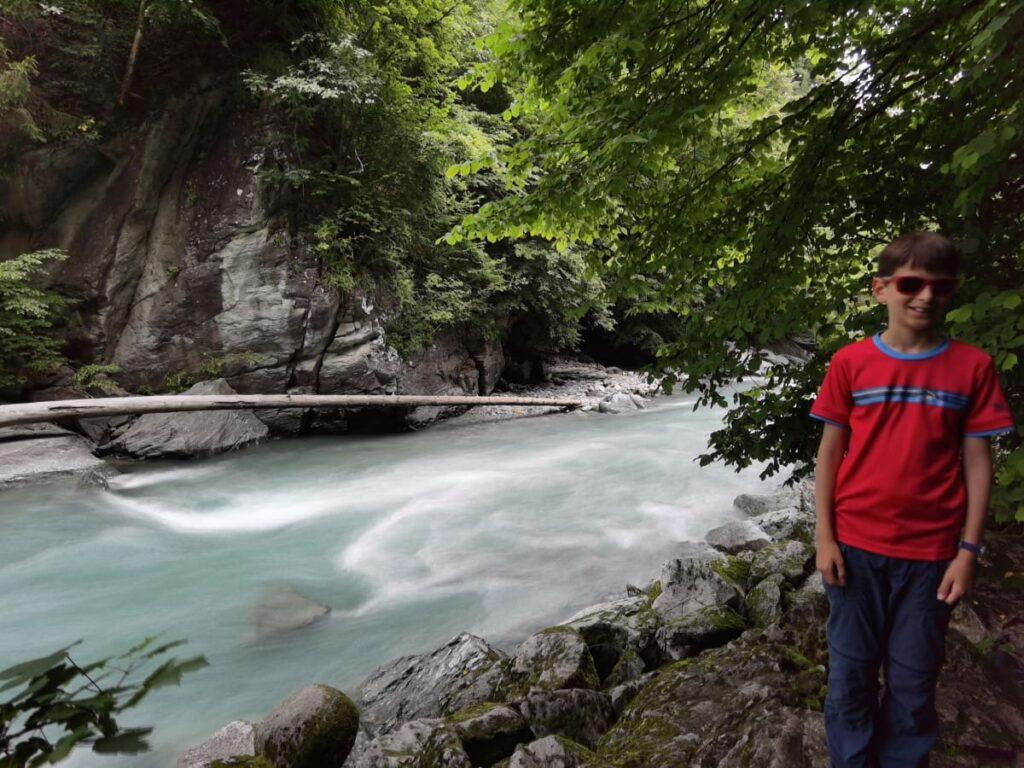 Die Sillschlucht ist eine der geheimen Innsbruck Sehenswürdigkeiten