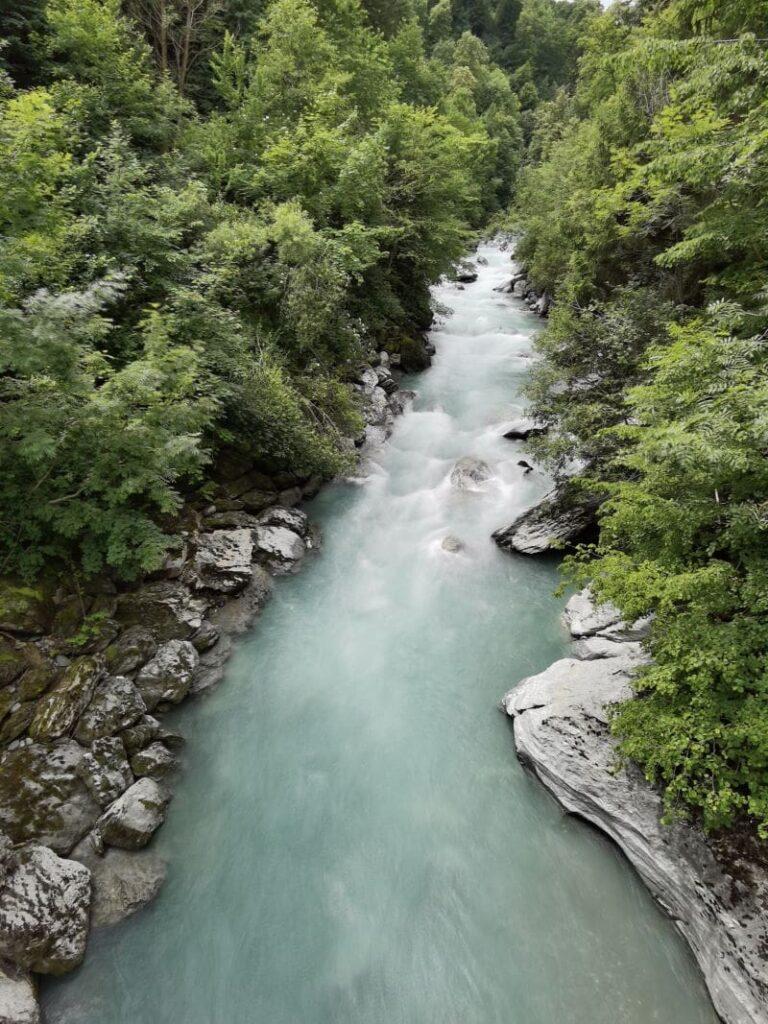 Die Alternative zu einem See in Innsbruck: Kühles Wasser in der Sillschlucht