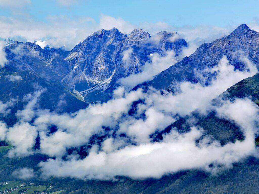Innsbruck Berge - Ausblick vom Patscherkofel
