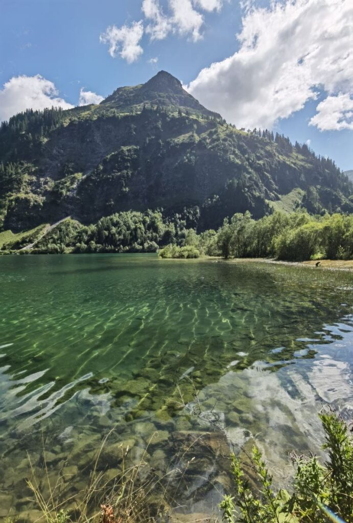 Innsbruck Seen für ein Wochenendtrip: Der Vilsalpsee und der Haldensee - zwei Seen an einem Fleck!